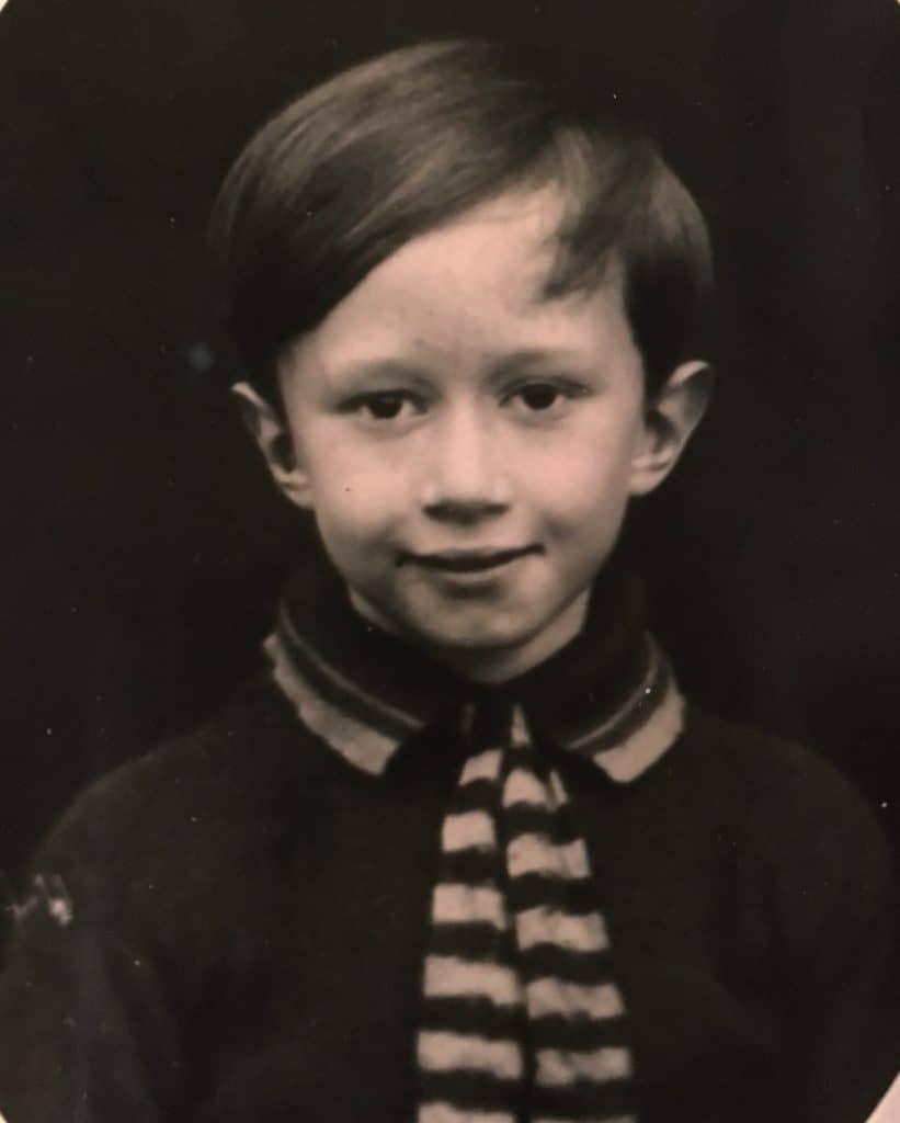 John Oliver as a school boy.